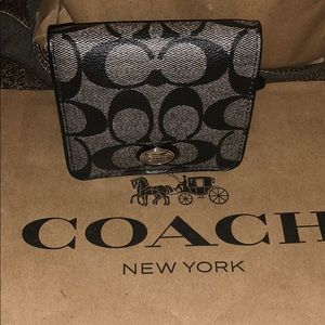 100% Authentic Coach signature Mini Purse